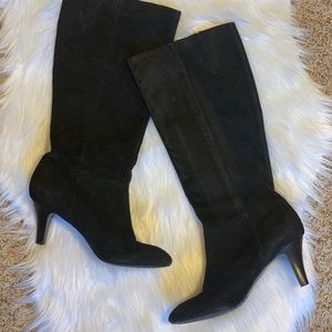 Banana Republic Black Suede boots